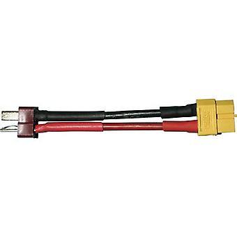 Cable adaptador de batería [1x T plug - 1x XT60 socket] 6.50 cm 2.50 mm2 Modelcraft