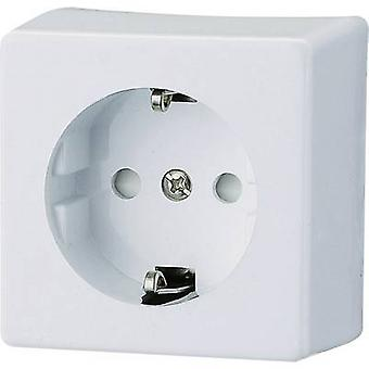 GAO 0304 oppervlak-mount aansluiting kindveiligheid Polar white