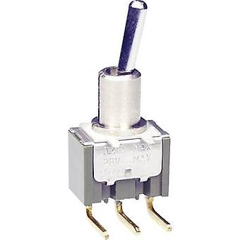NKK Switches M2013SS2G30 Toggle switch 28 V DC/AC 0.1 A 1 x On/Off/On latch/0/latch 1 pc(s)