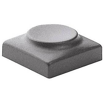 Marquardt 826.000.021 Sensor Cap Division 16 mm Dark grey Compatible with (details) Series 6425 without LED
