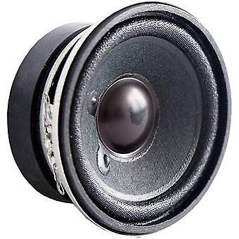 Visaton 2212 Mini kaiutin melupäästöjä: 84 dB 4 W 1 PCs()