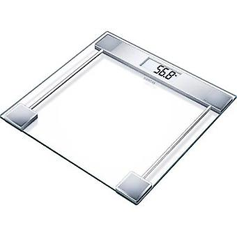 Sanitas SGS 06 Digital bathroom scales Weight range=150 kg Glass, Ebony black