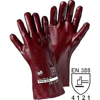L + D PVC 1481 PVC beschermende handschoen maat (handschoenen): 10, XL EN 388 CAT II 1 paar