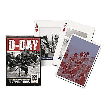 D-Day joukko 52 + Jokerit pelikortit