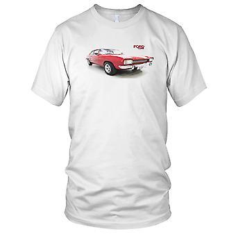 Ford Capri klassiske bilen Mens T-skjorte