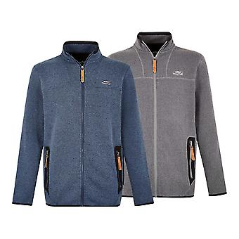 Weird Fish Mens Lindauer Full Zip Fleece
