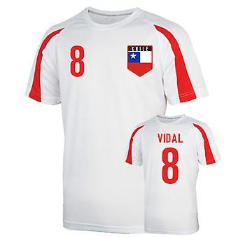Chile sport Training Jersey (vidal 8)