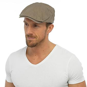 Mens Adult Quality Adjustable Strap Flat Cap Fashion Hat 100% Cotton