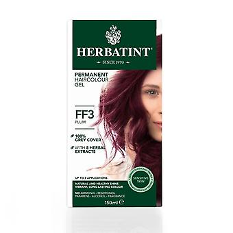 Herbatint, Plum Hair Colour FF3, 150ml