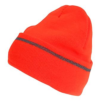Pro Climate Mens Hi-Vis Reflective Thinsulate Beanie Hat