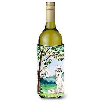 تحت شجرة أجش سيبيريا زجاجة النبيذ المشروبات عازل نعالها