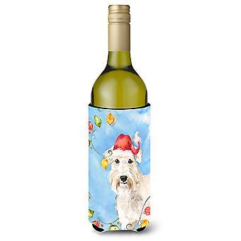 عيد الأنوار قمح الكلب زجاجة النبيذ المشروبات عازل نعالها