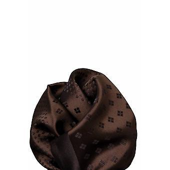 Brown silk pochet 11