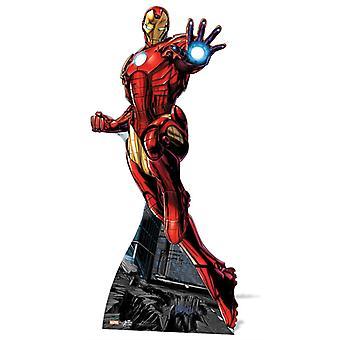 Vengeurs Marvel Ironman - découpe de carton
