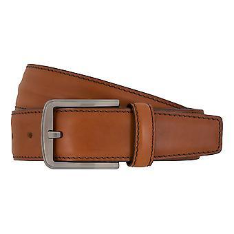 MIGUEL BELLIDO clasico belts men's belts leather belt Cognac 7683