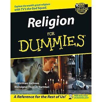 Religion For Dummies by R Gellman - 9780764552649 Book