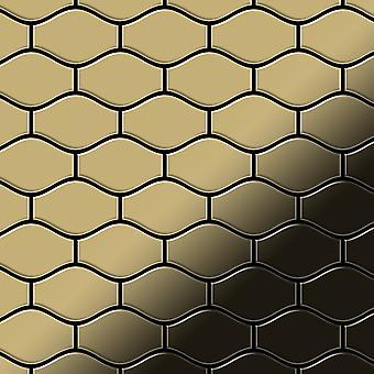 Metal mosaic Titanium ALLOY Karma-Ti-GM