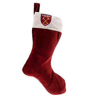 West Ham United FC Supersoft Christmas Stocking