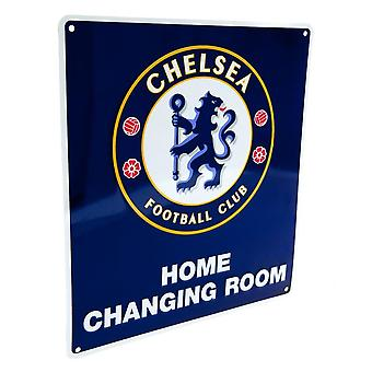Chelsea FC Official Home Changing Room Sign