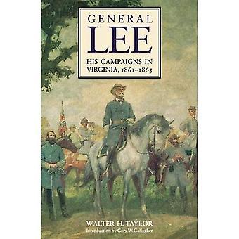 General Lee, seine Kampagnen in Virginia, 1861-1865: mit persönlichen Erinnerungen