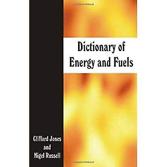 Dictionnaire de l'énergie et de combustibles