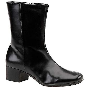 Walking Cradles Womens Merlin Leather Closed Toe Ankle Fashion Boots