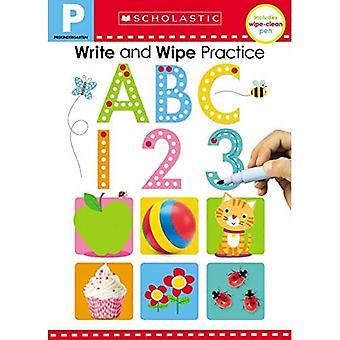 Write and Wipe Practice Flip Book: ABC 123 (Scholastic Early Learners) (Scholastic Early Learners)