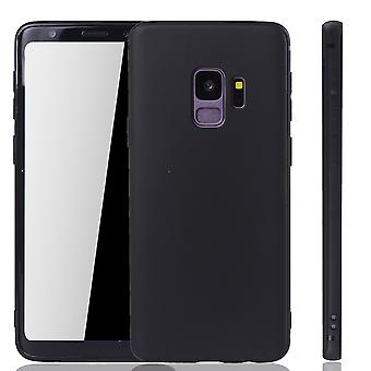 Samsung Galaxy S9 mobila bostäder Schutzcase bakstycket sleeve väska Pouch svart