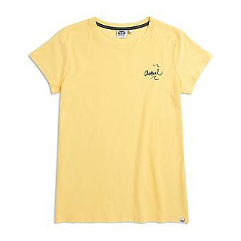 Animal Sportz 2 kort ermet T-skjorte i Merangue gul
