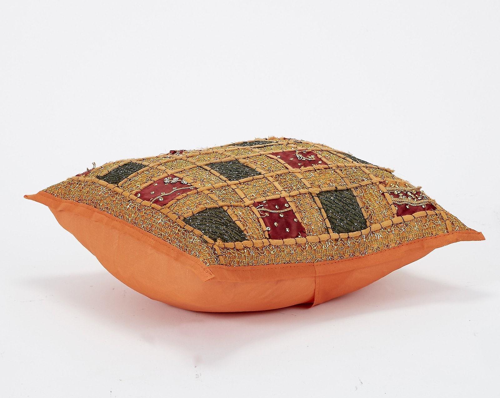 Medium Indian Patchwork Cushion Cover