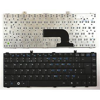 Fujitsu Siemens Amilo LA 1703 Black UK Layout Replacement Laptop Keyboard