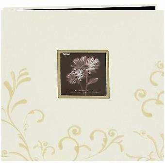 Pioneer Scroll Embroidery Fabric Post Bound Album 12