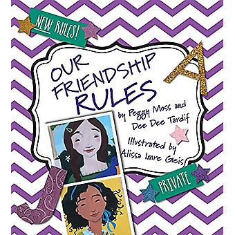 Our Friendship Rules by Peggy Moss - 9780884485964 Book