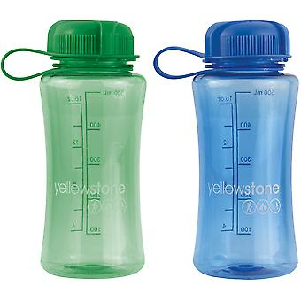Yellowstone 500ml Drinks Bottle Blue & Green