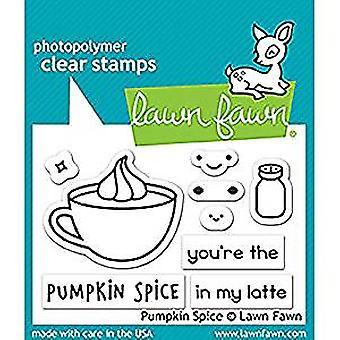 Græsplæne fawn græskar krydderi klare frimærker (LF1462)