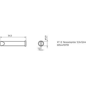 Weller XT-E soldering tip Chisel-shaped Tip size 5.9 mm Content 1 pc (s) Weller XT-E s