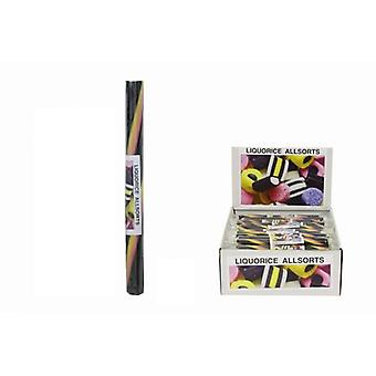 20 Medium Flavoured Rock Sticks - Liquorish Allsorts Flavour