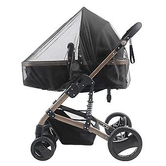Black mosquito nets for baby stroller