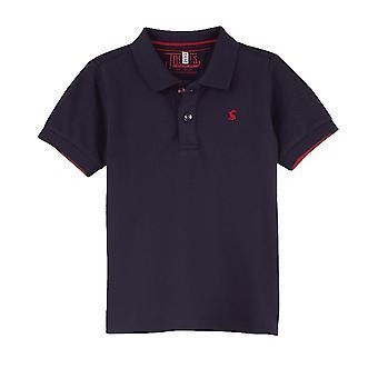Joules Junior Woody Polo Shirt - Marine Navy