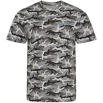 2 PARA 2dre fallskjerm regiment Wings-lisensiert britiske hæren brodert camouflage print T-skjorte