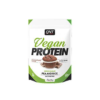 QNT Vegan Protein Zero Sugar Pea And Rice Weight Loss Food Supplement 500g