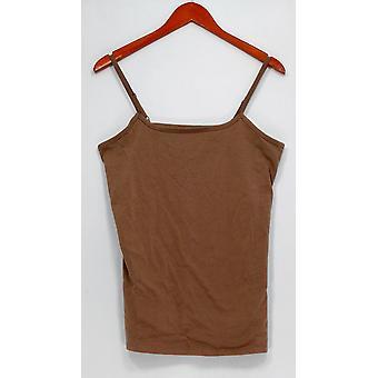 Liz Claiborne New York Top Essentials Scoop Neck Camisole Brown A264114