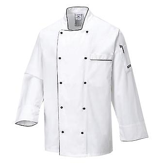 Portwest executive chefs jacket c776