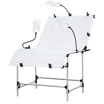 BRESSER BR-PT103 Stół do fotografowania 100x200cm + LED