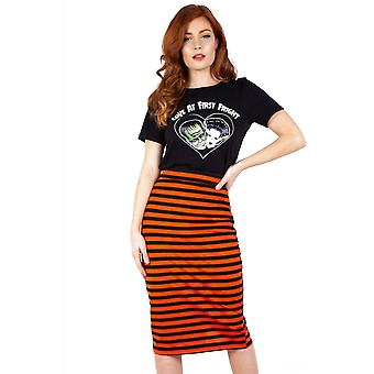 Jawbreaker Clothing Marnie Striped Pencil Skirt