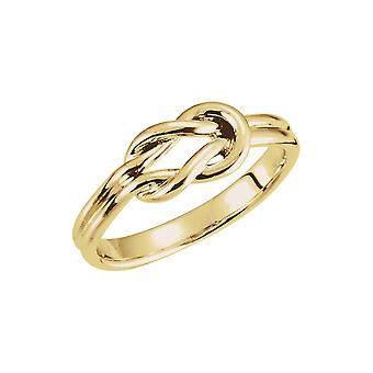 14k Yellow Gold Metal Fashion Ring Size 6 Jewelry Gifts for Women - 2.9 Grams
