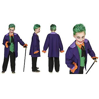 Joker Costume Halloween Costume pour enfants Gaukler Horror Kids