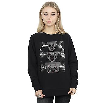 It Chapter 2 Women's Pennywise Photo Close-Up Sweatshirt