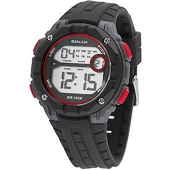 SINAR Youth Watch Wristwatch Digital Quartz Unisex Silicone Strap XE-56-4