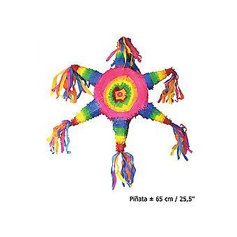 Pinata étoile 65 cm Multi cotillons